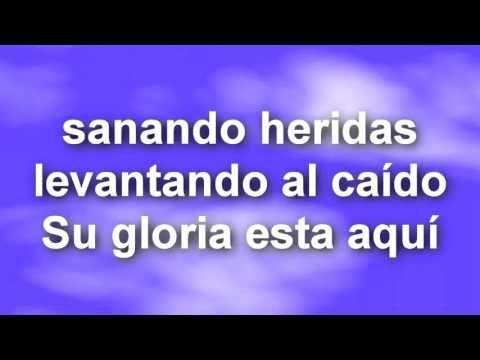 ALABANZAS  CRISTIANAS  ALGO ESTA CAYENDO AQUI  (4)  KARAOKE