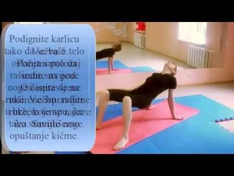 Petominutne vežbe za zdravu kičmu.