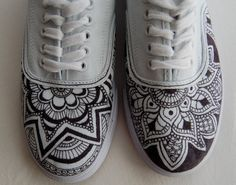 drawing on white sneakers - Google Search