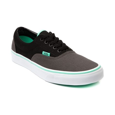 Vans Era Skate Shoe in Gray Black Biscay at Journeys Shoes. Available for shipment in September; pre-order yours today!