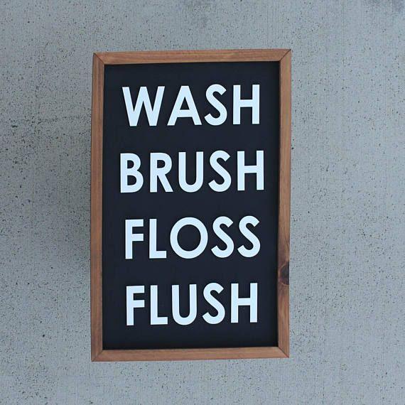 Wash Brush Floss Flush Details Finished Size Approximately 20 X