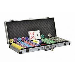 Pokerisetti 500 pelimerkkiä, 59,95€. Metalli ytimellä olevat pokeri chipit. Paino 11g ja kaikki ovat samanpainoisia, joten pinoaminen ja sekoittaminen on helppoa. Ilmainen toimitus! #pokerisetti #pokeri