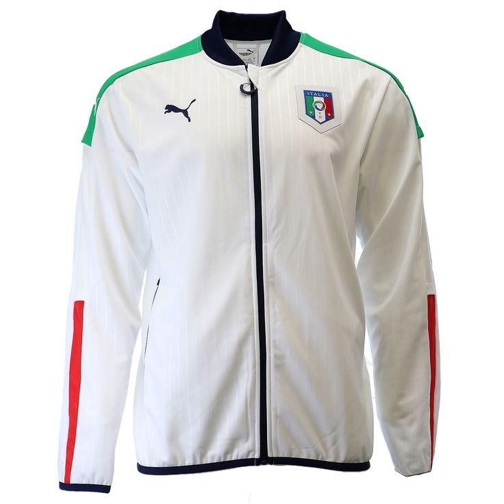 Puma FIGC Italia Stadium Soccer Fan Track Jacket - Mens