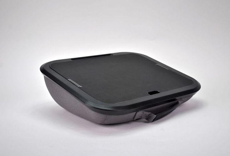 Brookstone Portable Laptop Desk e-Pad - Gray / Black Color #Brookstone #807926