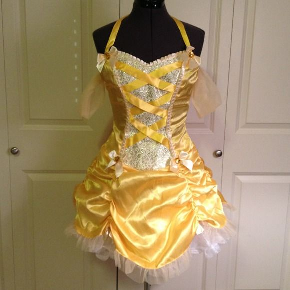 Leg Avenue Sexy Belle Halloween Costume Only wore it once for Halloween. Was pretty expensive but I had to get it because it was so cute!! Can't find the original package at the time but will post pics when I find it. White tutu not included. For additional photos and info kik me at daniellesea. Dresses