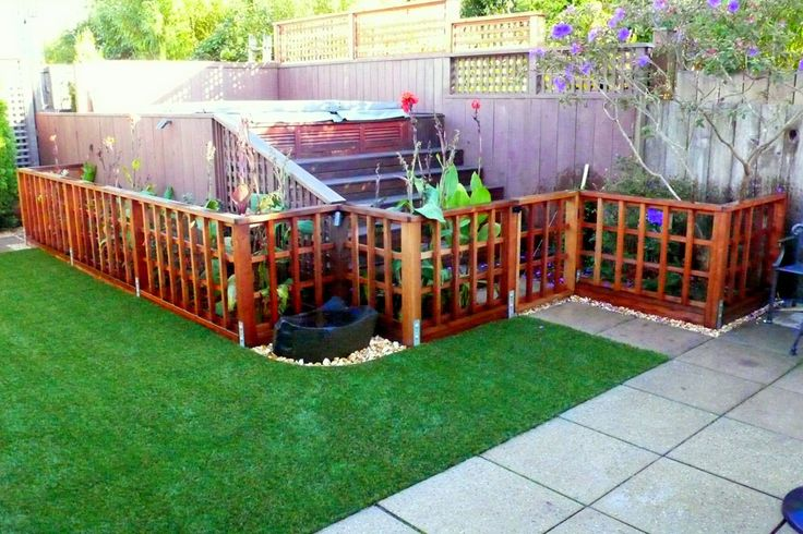 Low Trellis Fence For A Garden To Keep Dog Out Ideas