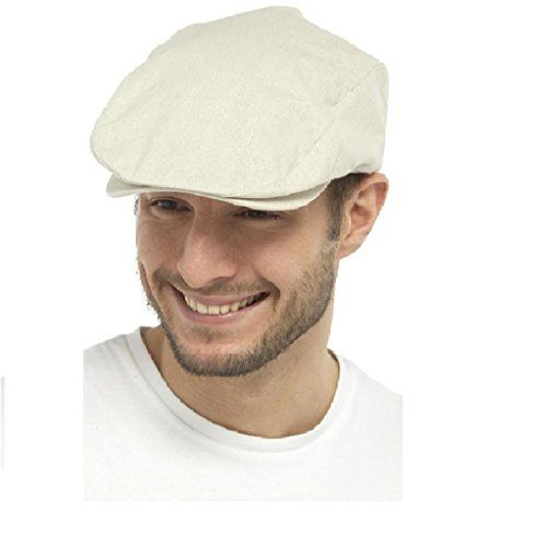 60 kr. (Findes også i Navy) UNISEX LIGHTWEIGHT COTTON LINEN SUMMER STYLE FLAT CAP (M/L, BEIGE) Tom Franks http://www.amazon.co.uk/dp/B01CK091WA/ref=cm_sw_r_pi_dp_spf3wb099DM8W