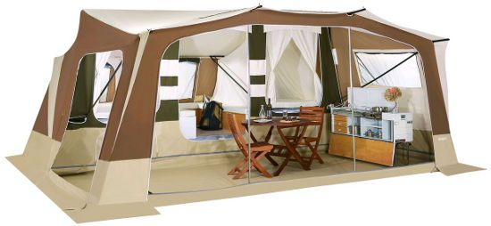 Trigano Olympe Trailer tent - 2014 Specification