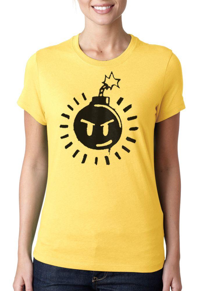 Ladies Scott Pilgrim 'SexBoBomb' Bomb T-shirt
