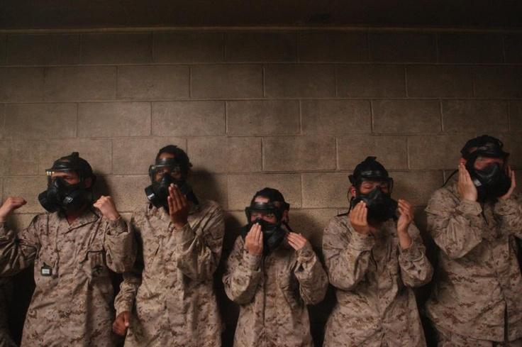 Ok I admit it. I don't miss the gas chamber. | WW2 & USMC ...