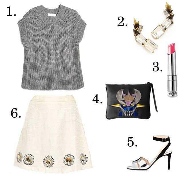 Inspiration look Day to night : day to night skirt    LE CATCH