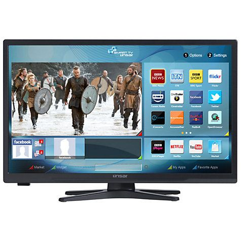 """Buy Linsar 22LED3000 LED HD 1080p Smart TV/DVD Combi, 22"""" with Freeview HD Online at johnlewis.com"""
