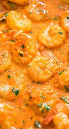 Diese Shrimps in gerösteter Pfeffersauce ist lippenschmeckend gut! Geröstete Paprikaschote   – Food