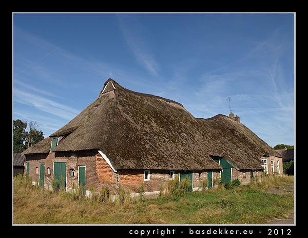 oude drentse boerderij met kameeldak, Om de Kamp, Ansen