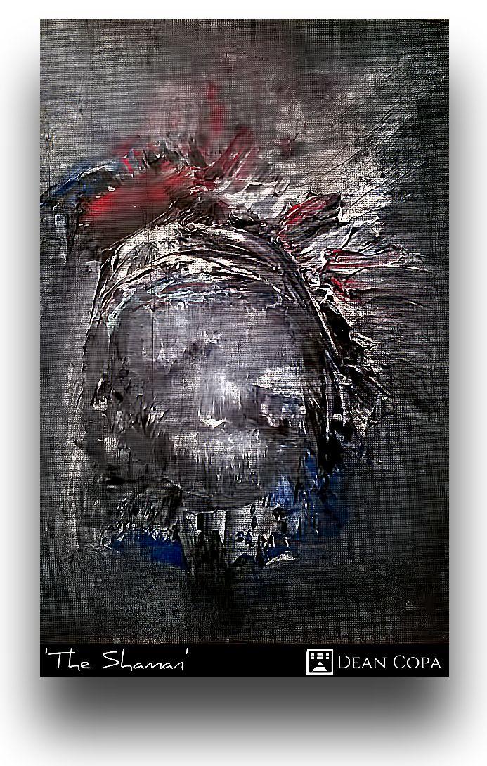 """""""The Shaman"""" 2015 by Dean Copa."""