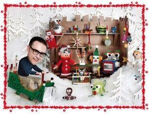 Redd barnas julepakkekalender - videoer med små figurer ol. man kan lage.