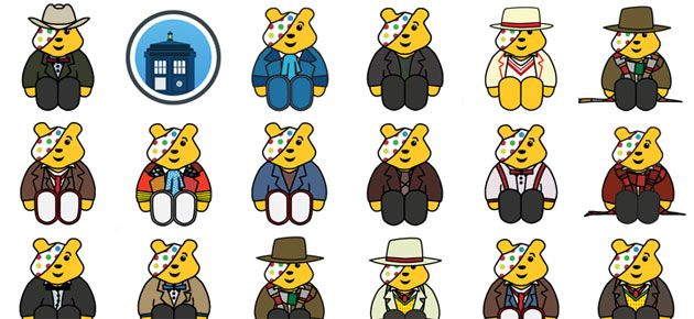 Doctor Who Pudsey Bears Collection