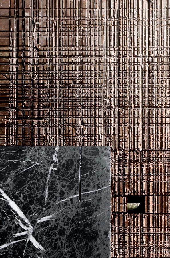 Retegui Marble, the luxury stone that fascinates - Collaboration with Jean Louis Iratzoki at M&O 2014 #marble #wall