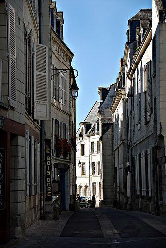 Old Town Saumur, Pays de la Loire, France