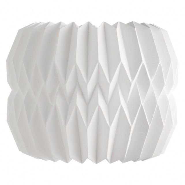 KURA White paper small lamp shade 25 x 20cm