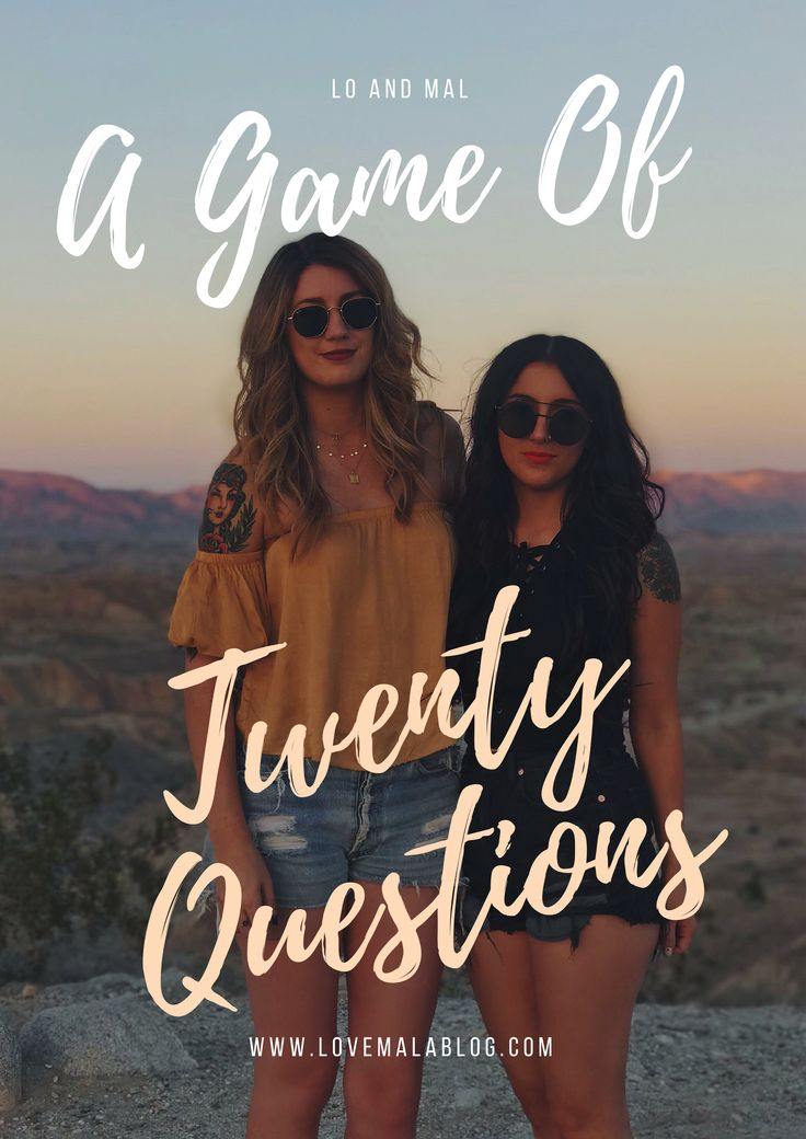 20 Questions Couples Game