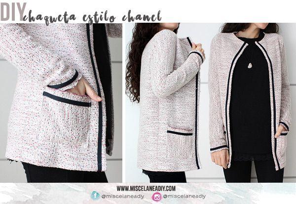 DIY Sewing | Chaqueta con bolsillos estilo chanel