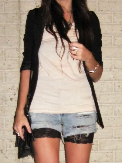 I have the Holy shorts and the lace black shorts....will be wearing.: Biker Shorts, Black Lace, Casual Friday, Shorts Shorts, Aldo Shoes, Denim And Lace Shorts, Jeans Shorts, Denim Shorts, Black Blazers