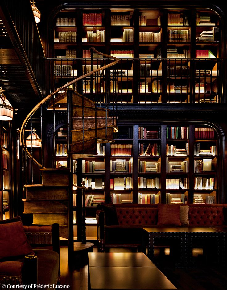 The NoMad Library (By Jacques Garcia) in NY