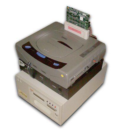 Sega Saturn Dev Kit, CD Emulator