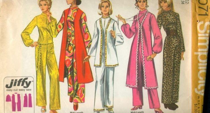 Hier vind je meer dan 83.500 (!) vintage naaipatronen