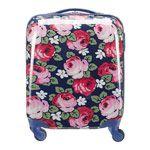 Aubrey Rose Hard Shell Cabin-Sized Wheeled Suitcase