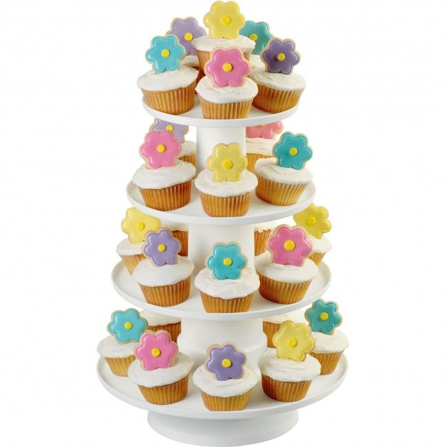 A great way to display cupcakes, appetizers, brownies and other party treats!