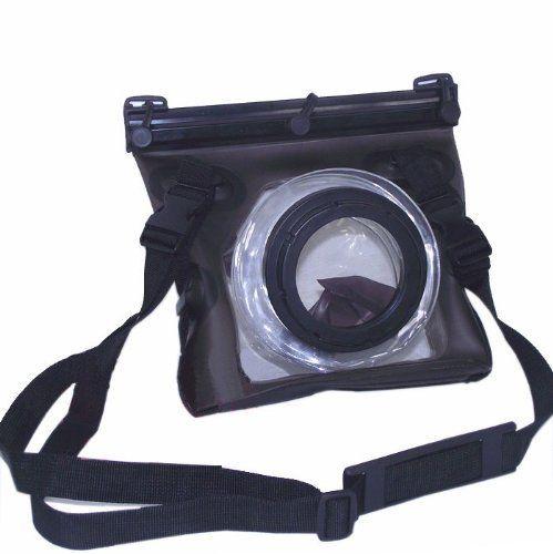 Pro Underwater, Waterproof, Rain Sand Proof Marine Housing Case for Nikon D3000, D5000, D90, D40, D60, D80, D70, D40x, D50, D70s, D300s, D700, D300, DX, D200, D100, D3s, D3x, D3, D1, D2x, L110, L100, P100, P90, P80 ** Click image for more details.