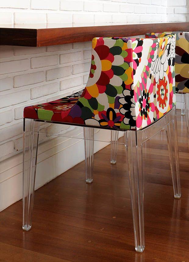 cadeira mademoiselle tecido Missoni loja Kartell copy