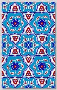 "Tile Collections by ""Home of Iznik"" Gorgeous tiles for flooring, backsplash, wall accent, countertops, powder room, bathroom, etc."