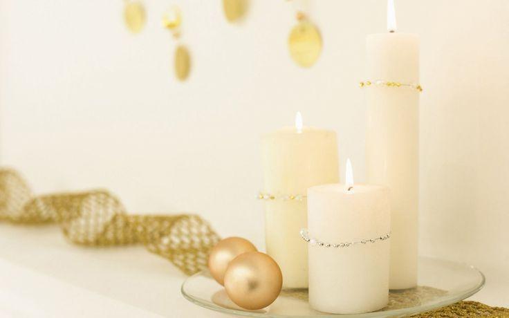 Белые свечи обои, картинки, фото