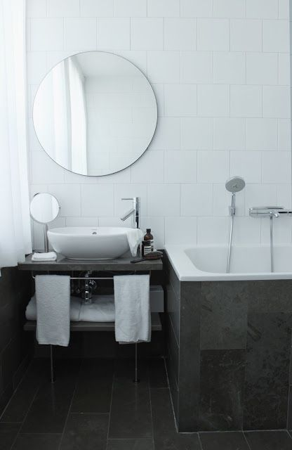 Photos Of From our stay at Miss Clara us Scandinavian Love Song Round Bathroom MirrorRound