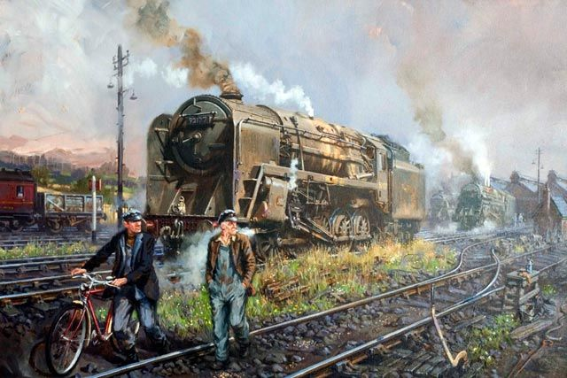 Fine Art Prints of Railway Scenes & Train Portraits - Steel Shires