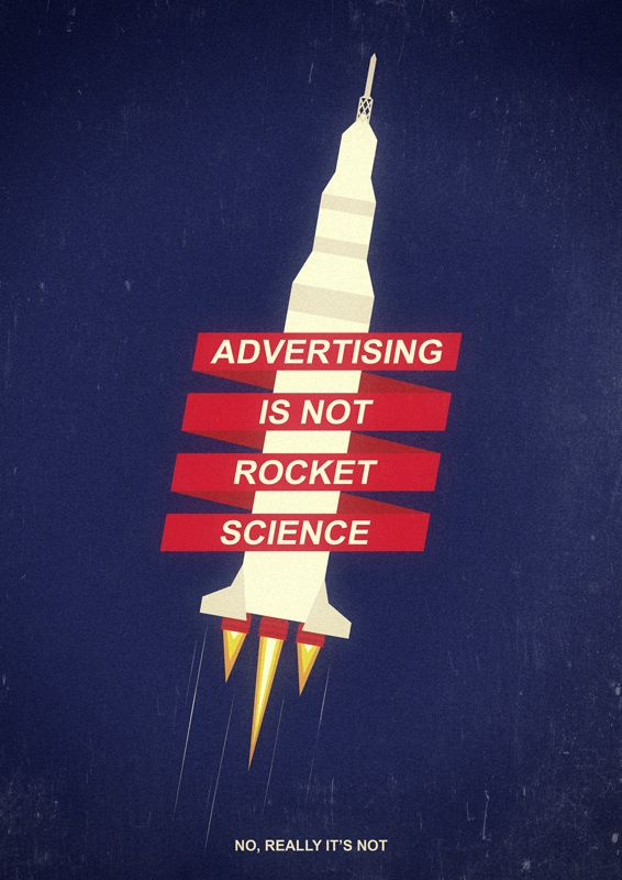 Advertising is not rocket science - Sebastián Gavary — Designspiration