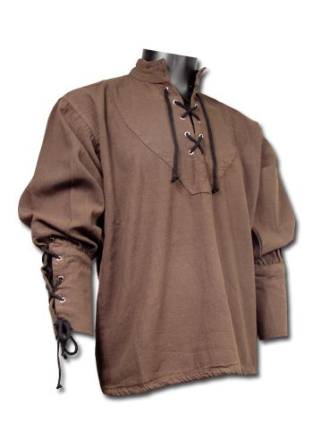Hemd Seefahrer, braun | Hemden | Gewandung Herren | Gewandung | Dein-LARP-Shop - Mittelalter, LARP und Fantasy Shop                                                                                                                                                     Mehr