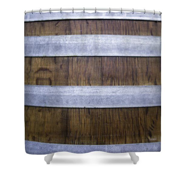 Durmast Barrel Shower Curtain by Cesare Bargiggia