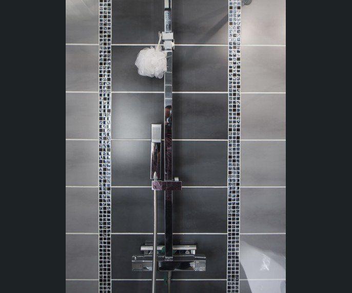 salle de bains gris argent sensea salle de bains