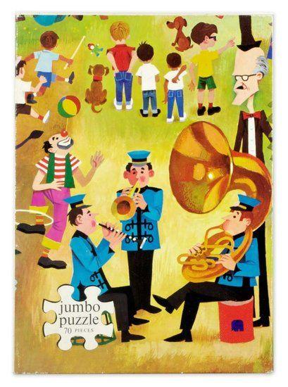 Jumbo fanfare puzzel   De Oude Speelkamer   Vintage  u0026 Retro   De Oude Speelkamer   Pinterest