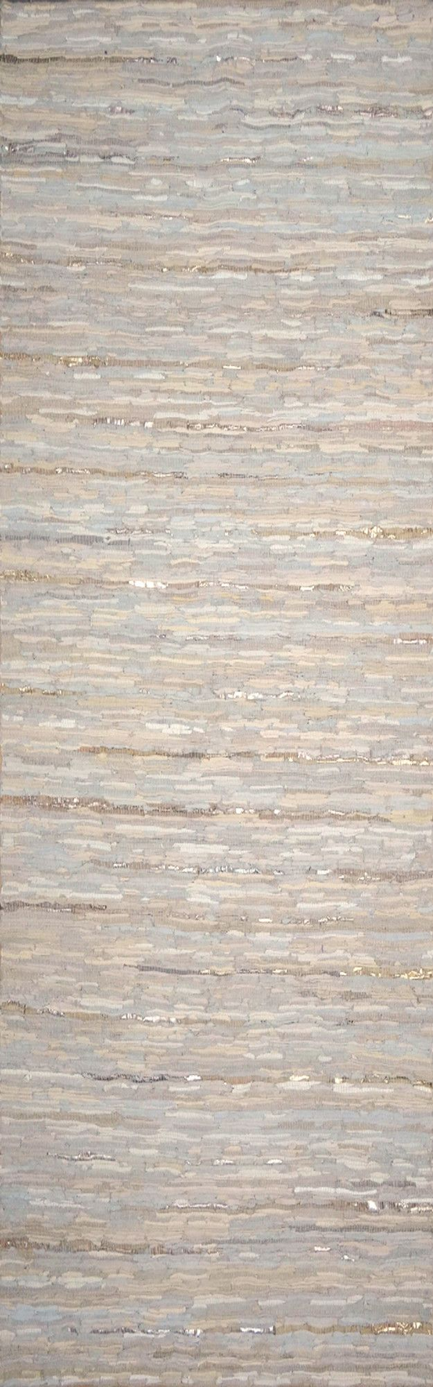 Anthracite Ivory Solid Rug