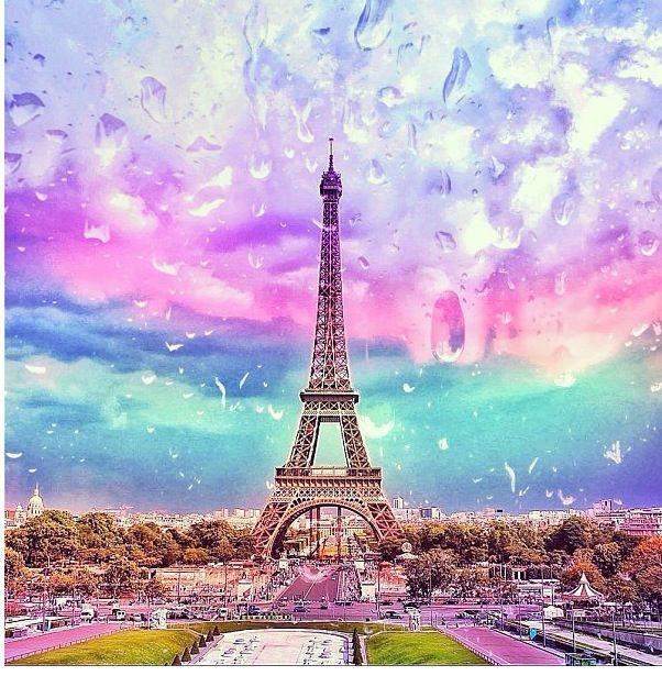 Cute Painting Wallpapers Efil Tower Paris Paris Wallpaper Paris Eiffel Tower
