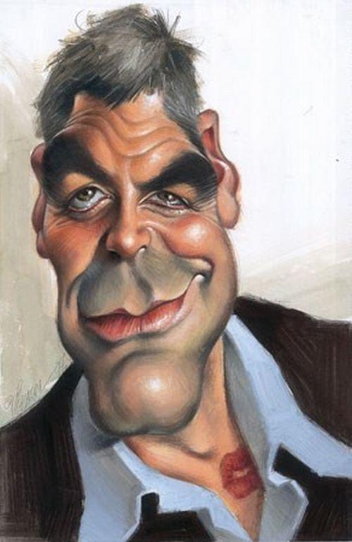 George Clooney #caricatura