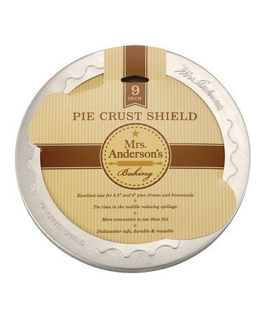 Loving this Mrs. Anderson's 9'' Pie Crust Shield on #zulily! #zulilyfinds