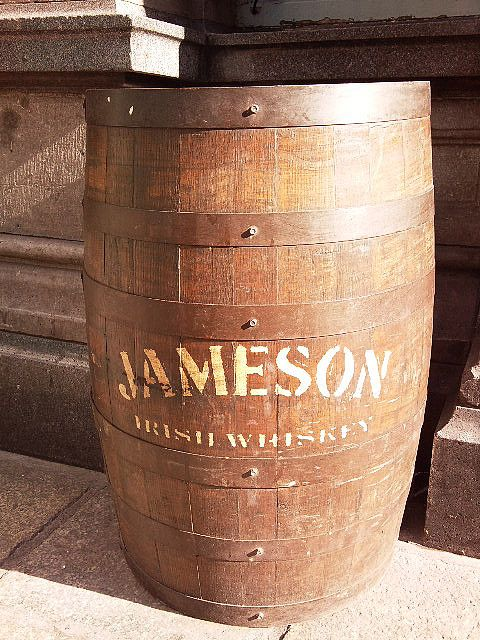 Jameson Barrel for the man-cave.