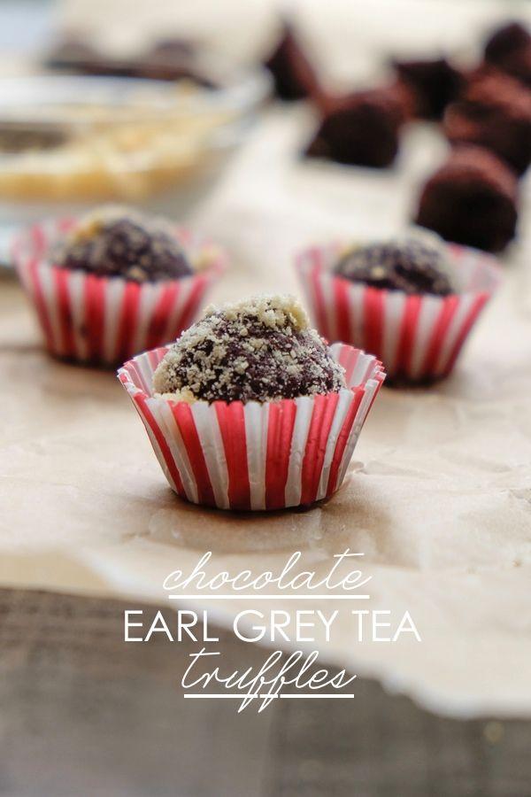 Win people's hearts with Chocolate Earl Grey Tea Truffles. Find the recipe on Shutterbean.com!