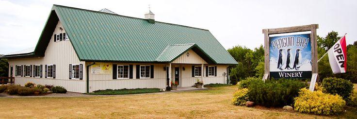 Penguin Bay Winery located on the Seneca Lake Wine Trail